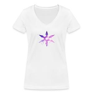 Akai Asie - T-shirt bio col V Stanley & Stella Femme