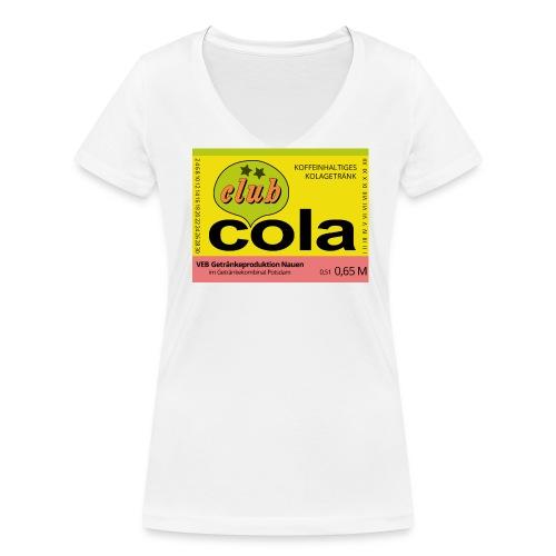 VEB Getränkeproduktion Nauen - Frauen Bio-T-Shirt mit V-Ausschnitt von Stanley & Stella