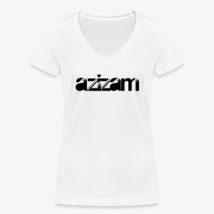 azizam - Frauen Bio-T-Shirt mit V-Ausschnitt von Stanley & Stella