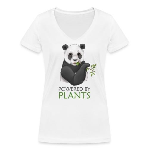 Panda 2 Plantbased - Ekologisk T-shirt med V-ringning dam från Stanley & Stella