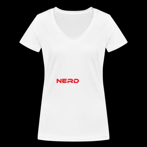 The coolest Nerd ever - Frauen Bio-T-Shirt mit V-Ausschnitt von Stanley & Stella