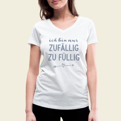 zufällig zu füllig - Frauen Bio-T-Shirt mit V-Ausschnitt von Stanley & Stella