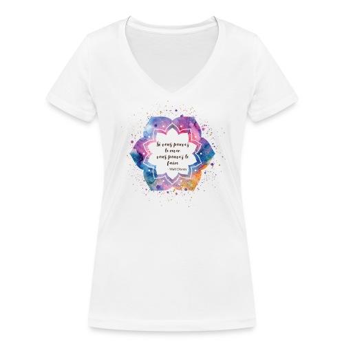Citation de Walt D. - T-shirt bio col V Stanley & Stella Femme