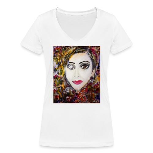 Nina - Women's Organic V-Neck T-Shirt by Stanley & Stella