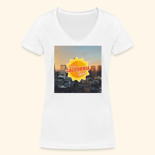 California Spirit City - T-shirt bio col V Stanley & Stella Femme