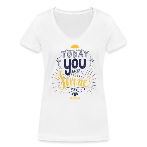 jopida shine - Frauen Bio-T-Shirt mit V-Ausschnitt von Stanley & Stella