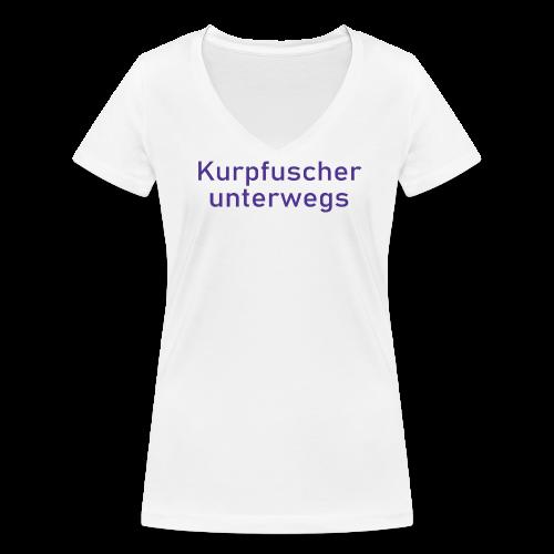 Kurpfuscher unterwegs - Das Robert Franz T-Shirt - Frauen Bio-T-Shirt mit V-Ausschnitt von Stanley & Stella