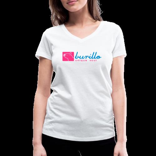 Burillo - Frauen Bio-T-Shirt mit V-Ausschnitt von Stanley & Stella