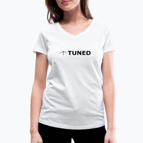 TUNED - Redécouvrez la radio Monochrome - T-shirt bio col V Stanley & Stella Femme