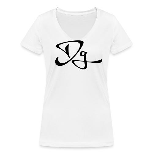 Dg tröja - Ekologisk T-shirt med V-ringning dam från Stanley & Stella