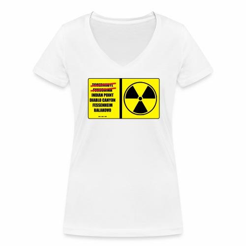 nucleaire - T-shirt bio col V Stanley & Stella Femme