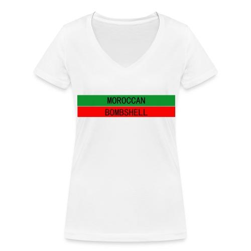 Moroccan Bombshell - Frauen Bio-T-Shirt mit V-Ausschnitt von Stanley & Stella