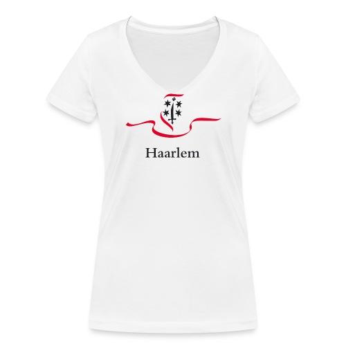 Haarlem T-Shirt - Vrouwen bio T-shirt met V-hals van Stanley & Stella