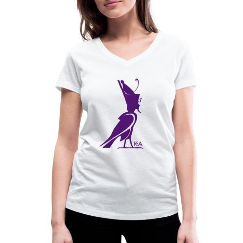 KA Seele - Altes Ägypten - Frauen Bio-T-Shirt mit V-Ausschnitt von Stanley & Stella