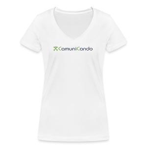 CamuniCando - T-shirt ecologica da donna con scollo a V di Stanley & Stella