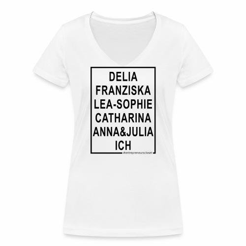 Ich bin eine Gründerin! - Frauen Bio-T-Shirt mit V-Ausschnitt von Stanley & Stella