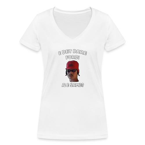 Sameskjorta - Økologisk T-skjorte med V-hals for kvinner fra Stanley & Stella