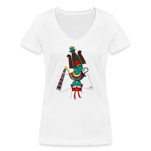 OSIRIS - God of Egypt - Frauen Bio-T-Shirt mit V-Ausschnitt von Stanley & Stella
