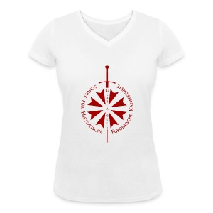 Logo frei - Frauen Bio-T-Shirt mit V-Ausschnitt von Stanley & Stella