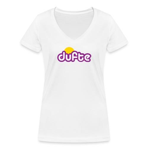 dufte Mädels Shirt - Frauen Bio-T-Shirt mit V-Ausschnitt von Stanley & Stella