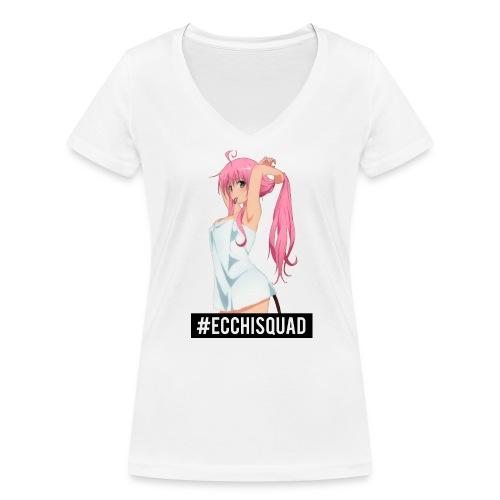 Ecchi - Women's Organic V-Neck T-Shirt by Stanley & Stella
