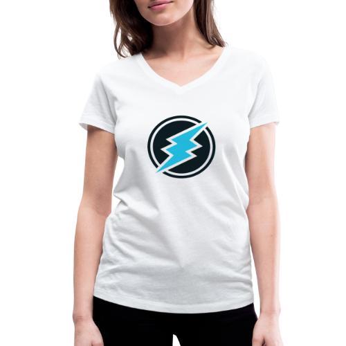 ETN logo - Women's Organic V-Neck T-Shirt by Stanley & Stella