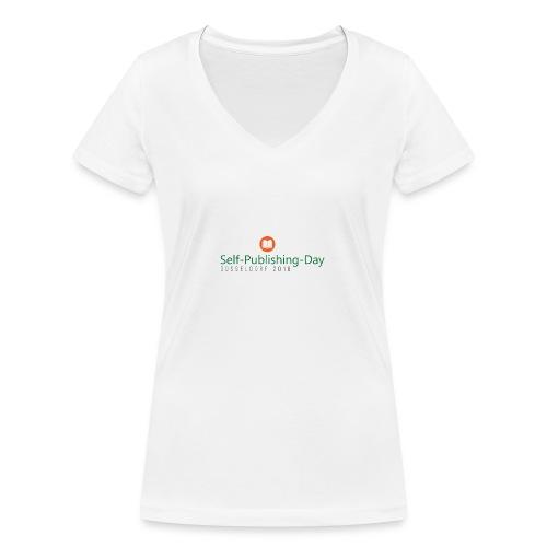 Self-Publishing-Day Düsseldorf 2018 - Frauen Bio-T-Shirt mit V-Ausschnitt von Stanley & Stella