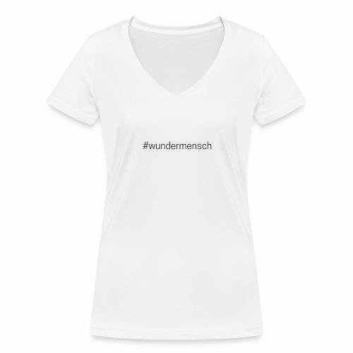 #wundermensch - Frauen Bio-T-Shirt mit V-Ausschnitt von Stanley & Stella