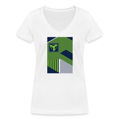 Spring/Summer 10 - Frauen Bio-T-Shirt mit V-Ausschnitt von Stanley & Stella