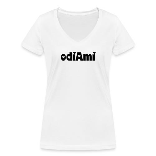 Odiami. - T-shirt ecologica da donna con scollo a V di Stanley & Stella