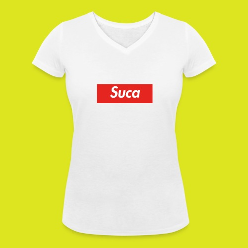 Suca - T-shirt ecologica da donna con scollo a V di Stanley & Stella