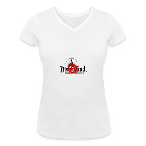 Anarchy ain't on sale(Dismaland unofficial gadget) - Women's Organic V-Neck T-Shirt by Stanley & Stella
