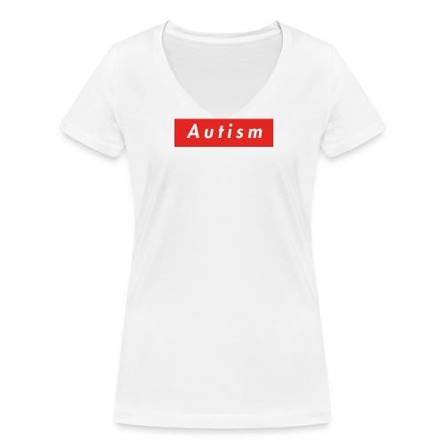 Autism - Frauen Bio-T-Shirt mit V-Ausschnitt von Stanley & Stella