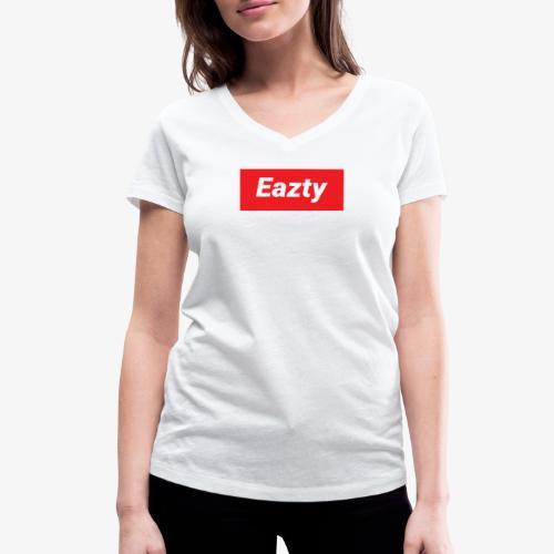 Eazty Regular - Frauen Bio-T-Shirt mit V-Ausschnitt von Stanley & Stella