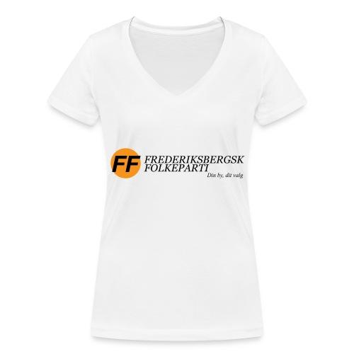 Din by, dit valg - Premium - Økologisk Stanley & Stella T-shirt med V-udskæring til damer