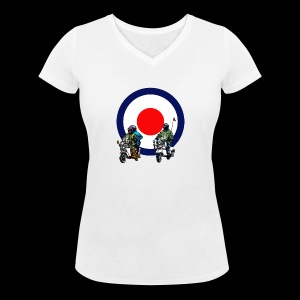 Mods - Women's Organic V-Neck T-Shirt by Stanley & Stella