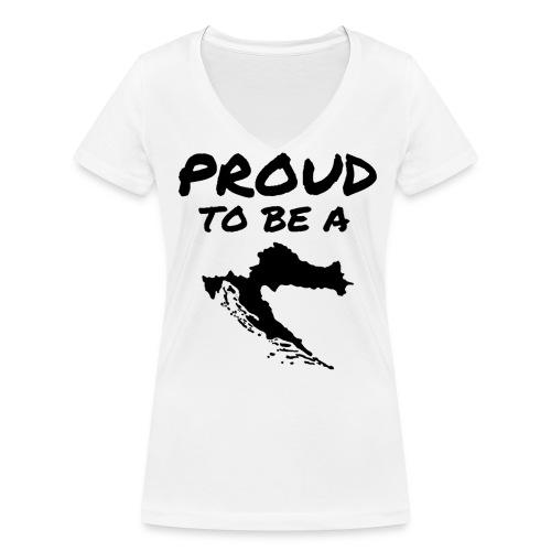 PTBAC - Frauen Bio-T-Shirt mit V-Ausschnitt von Stanley & Stella