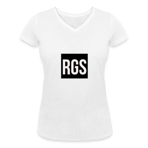 RGS_Profile_Logo - Women's Organic V-Neck T-Shirt by Stanley & Stella