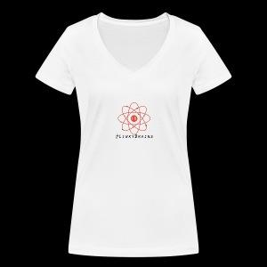 LinkyBrainsLogo2018 - Women's Organic V-Neck T-Shirt by Stanley & Stella