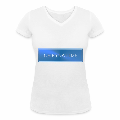 Chrysalide t shirt 014 petit format - T-shirt bio col V Stanley & Stella Femme