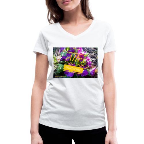 Mutter Tag - Frauen Bio-T-Shirt mit V-Ausschnitt von Stanley & Stella