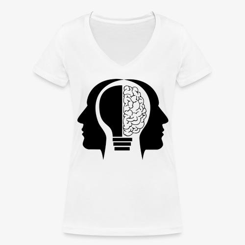 Aitzz.net - Frauen Bio-T-Shirt mit V-Ausschnitt von Stanley & Stella