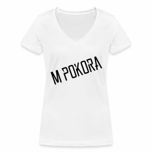 Pokora - T-shirt bio col V Stanley & Stella Femme