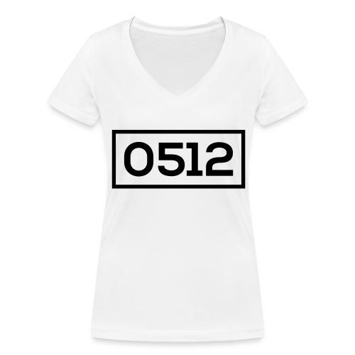 0512 - Vrouwen bio T-shirt met V-hals van Stanley & Stella