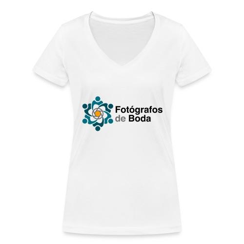 Logo FdB Color - Camiseta ecológica mujer con cuello de pico de Stanley & Stella