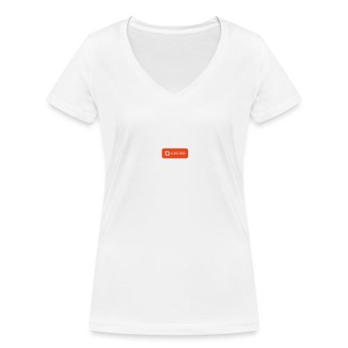 sub buttonflat3 01 - Økologisk Stanley & Stella T-shirt med V-udskæring til damer