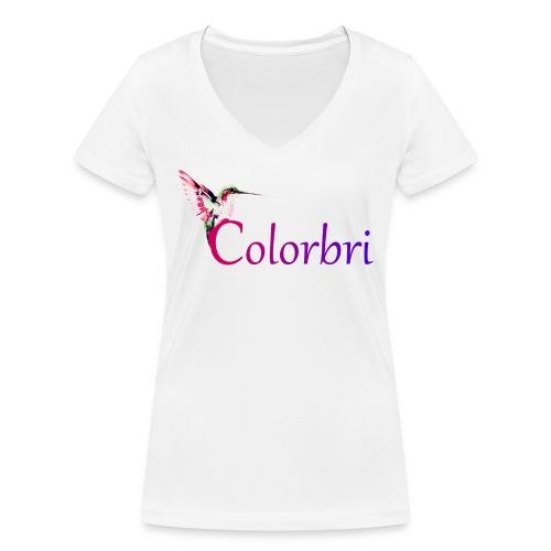 Colorbri - Frauen Bio-T-Shirt mit V-Ausschnitt von Stanley & Stella