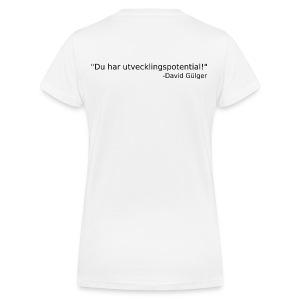 Ju jutsu kai förslag 1 version 1 svart text - Ekologisk T-shirt med V-ringning dam från Stanley & Stella