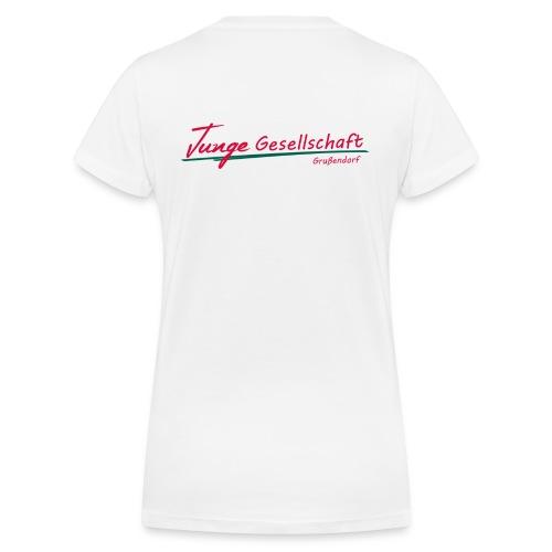 Tshirt JGG - Frauen Bio-T-Shirt mit V-Ausschnitt von Stanley & Stella