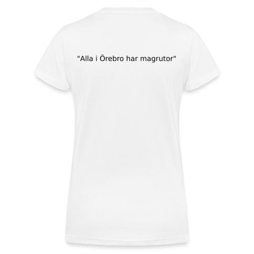 Ju jutsu kai förslag 2 version 1 svart text - Ekologisk T-shirt med V-ringning dam från Stanley & Stella
